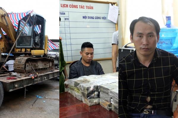 Công an huyện Bạch Thông, tỉnh Bắc Kạn bắt giữ 4 đối tượng trong đường dây vận chuyển trái phép gần 200 bánh heroin. Trong khi đó, Công an quận Long Biên (Hà Nội) phát hiện thêm một đường dây mua bán mô và bộ phận cơ thể người (Thời sự đêm 17/10/2018)