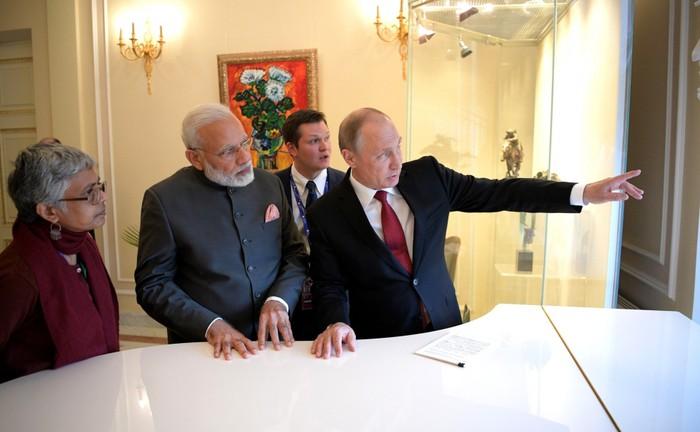 Sự đồng điệu trong quan hệ Nga - Ấn (4/10/2018)