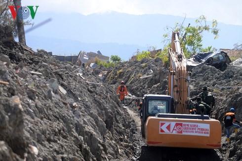 Công tác khắc phục hậu quả động đất sóng thần tại Indonesia (10/10/2018)