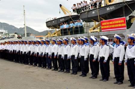 Lữ đoàn 146, Đoàn Trường Sa thuộc vùng 4 Hải quân làm tốt chính sách hậu phương quân đội (24/11/2018)