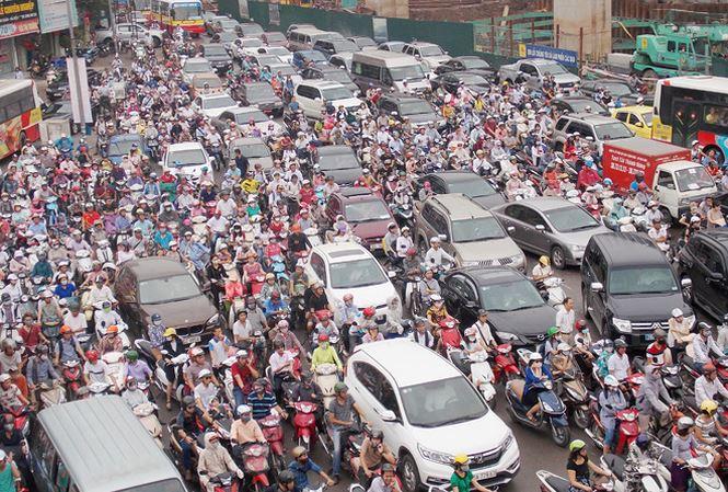 Đề án thu phí phương tiện vào nội đô Thủ đô Hà Nội nhằm giảm ùn tắc giao thông và ô nhiễm môi trường (12/11/2018)