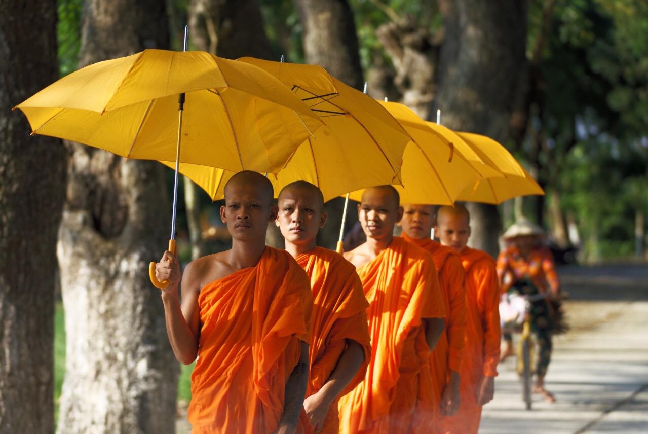 Lễ dâng y Kathina của Phật giáo Nam Tông - đóa hoa quý từ thượng giới (16/11/2018)