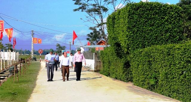 Hiện trạng nông thôn mới ở Hà Tĩnh (2/11/2018)