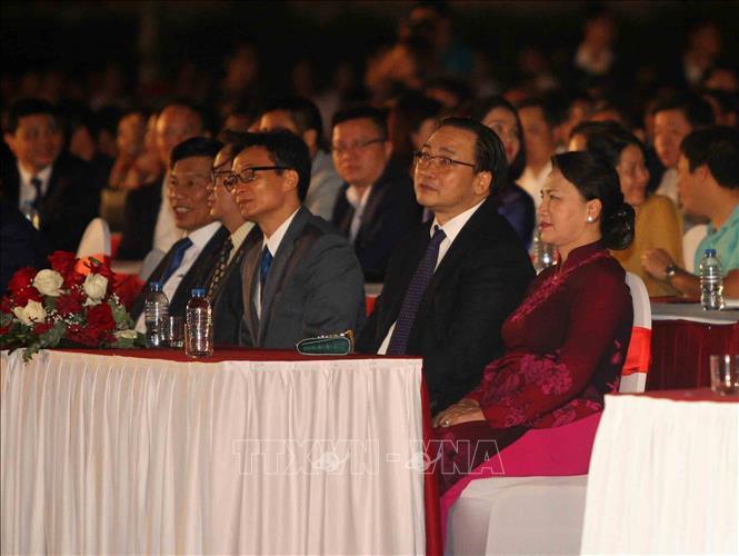 Chủ tịch Quốc hội Nguyễn Thị Kim Ngân dự Lễ trao quyền đăng cai Giải đua công thức 1 cho thành phố Hà Nội (Thời sự đêm 7/11/2018)