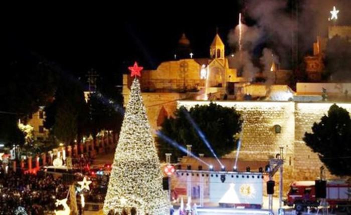 Đức ra mắt cây thông Giáng sinh đắt nhất châu Âu  (11/12/2018)