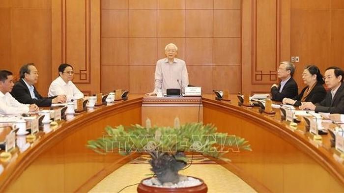 Ngày mai (25/12), Hội nghị lần thứ 9 Ban chấp hành Trung ương khóa XII khai mạc tại Hà Nội, giới thiệu các chức danh lãnh đạo chủ chốt (24/12/2018)