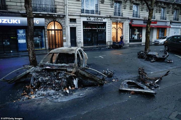 Bạo loạn ở Pháp: Khắc họa một quốc gia bị chia rẽ sâu sắc (5/12/2018)