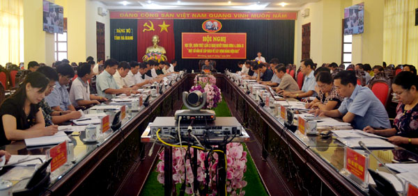 Kết quả thực hiện Nghị quyết Trung ương 4 ở thành phố Hà Giang, tỉnh Hà Giang (4/12/2018)