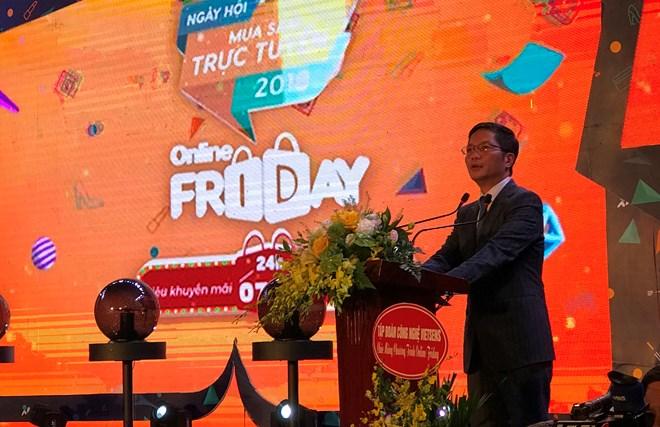 Online Friday 2018 - Người dân Thủ đô hào hứng trải nghiệm công nghệ số và thương mại điện tử (6/12/2018)