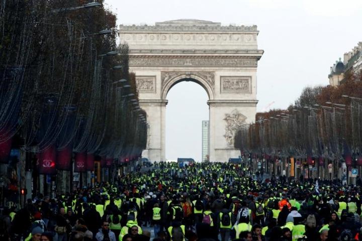 Biểu tình bạo loạn ở Pháp và tương lai bất ổn chính trị (9/12/2018)