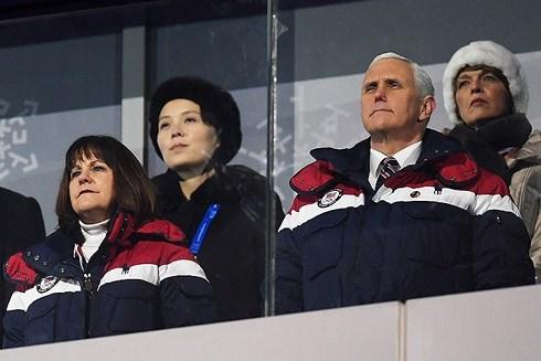 Tam giác Mỹ - Hàn - Triều ở Olympic Pyeongchang 2018 (12/2/2018)