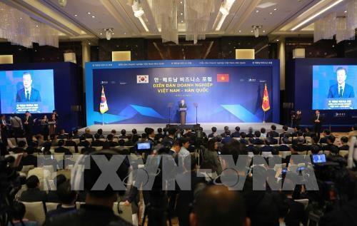 Cộng đồng doanh nghiệp Việt Nam - Hàn Quốc mong muốn có thêm nhiều điều kiện thuận lợi để hợp tác (26/3/2018)