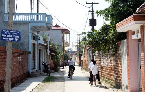 Thạch Thất hướng tới mục tiêu huyện nông thôn mới (8/3/2018)