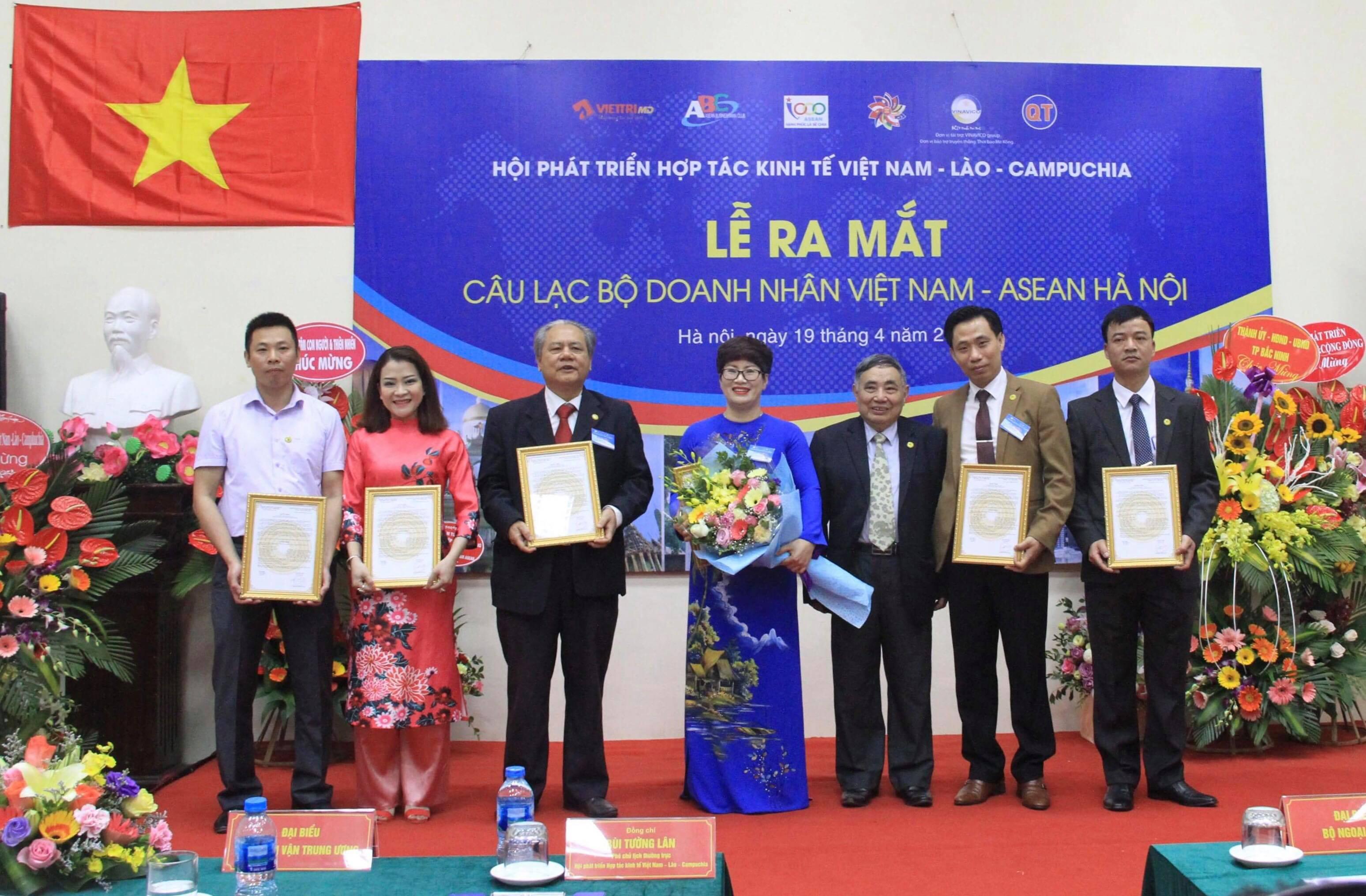 Câu lạc bộ Doanh nhân Việt Nam - ASEAN: Tăng cường kết nối doanh nghiệp Việt Nam (21/4/2018)