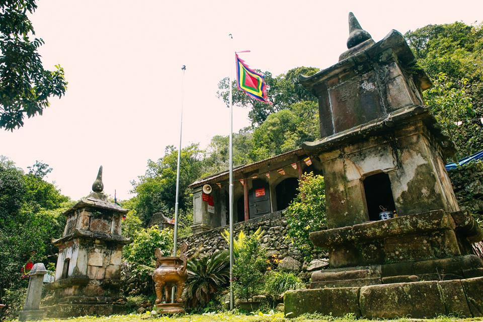Am Ngọa Vân, nơi kết thúc trọn vẹn quá trình tu luyện đắc đạo của Phật Hoàng Trần Nhân Tông. (3/4/2018)