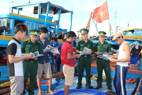 Công tác tuyên truyền pháp luật đến người dân ở khu vực biên giới biển tại thành phố Hải Phòng và tỉnh Bà Rịa - Vũng Tàu (14/4/2018)