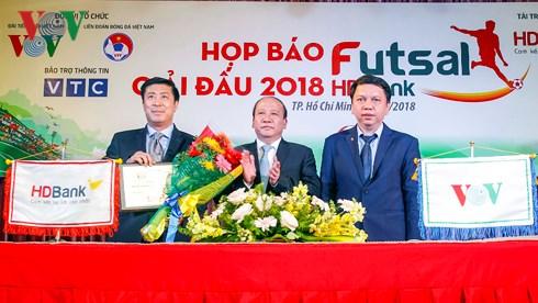 Chuẩn bị khởi tranh Giải Futsal HDBank Vô địch Quốc gia 2018 (22/4/2018)