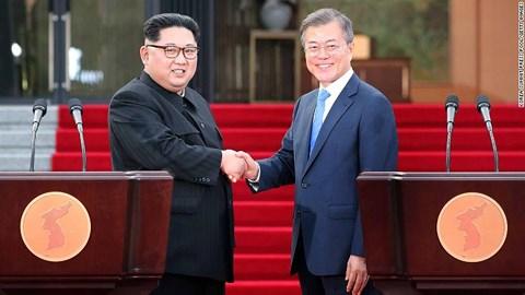 Cuộc họp thượng đỉnh liên Triều: Cùng nhất trí mục tiêu phi hạt nhân hóa bán đảo Triều Tiên, hướng tới mục tiêu hòa bình (29/4/2018)