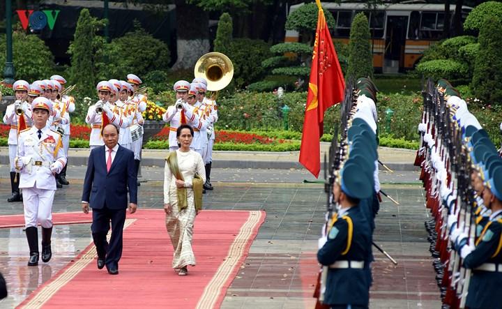 Chuyến thăm nhiều kỳ vọng cho quan hệ Việt Nam - Myanmar (19/4/2018)