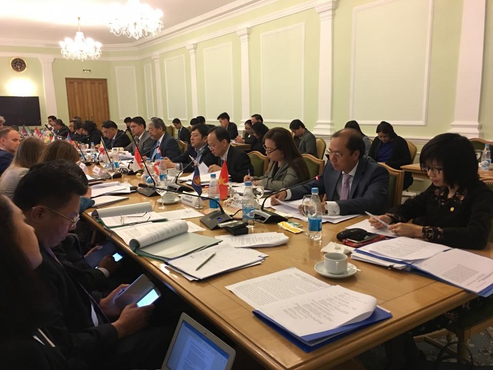Hội nghị quan chức cấp cao ASEAN – Nga lần thứ 15 (23/5/2018)