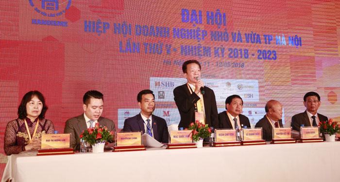 Hiệp hội Doanh nghiệp nhỏ và vừa thành phố Hà Nội: Kết nối doanh nhân, phát triển bền vững (15/5/2018)