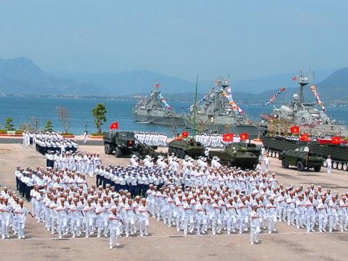 Bộ đội hải quân bảo vệ vững chắc chủ quyền biển đảo của Tổ Quốc (7/5/2018)