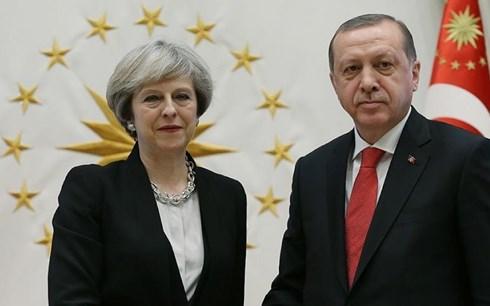 Anh - Thổ Nhĩ Kỳ hướng tới quan hệ thời hậu Brexit (15/5/2018)
