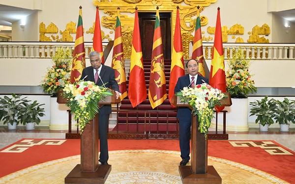 Thúc đẩy quan hệ hữu nghị và hợp tác Việt Nam - Srilanka (3/5/2018)