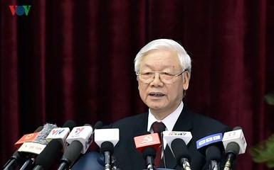 Toàn văn bài phát biểu của Tổng Bí thư Nguyễn Phú Trọng tại phiên bế mạc Hội nghị Trung ương lần thứ 7 Ban Chấp hành Trung ương Đảng khóa 12 (Thời sự chiều 12/5/2018)