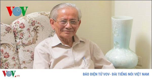 Giáo sư, Nhà giáo nhân dân Phan Huy Lê, nhà khoa học có góc nhìn riêng về lịch sử (26/6/2018)