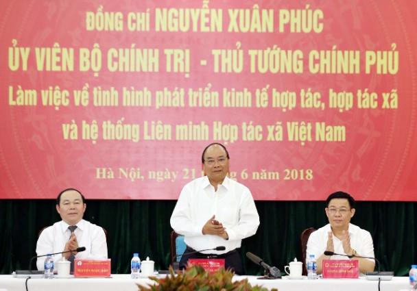 Thủ tướng Nguyễn Xuân Phúc: Sẽ tiếp tục ban hành một số văn bản mới về đầu tư trong nông nghiệp và tín dụng nông nghiệp để hỗ trợ Hợp tác xã (Thời sự sáng 22/6/2018)