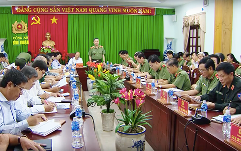Bộ trưởng Bộ Công an Tô Lâm vào Bình Thuận chỉ đạo xử lý vụ gây rối nghiêm trọng (Thời sự chiều 13/6/2018)