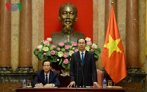 Chủ tịch nước Trần Đại Quang gặp mặt đại biểu trẻ em có hoàn cảnh đặc biệt tiêu biểu toàn quốc (Thời sự chiều 18/6/2018)