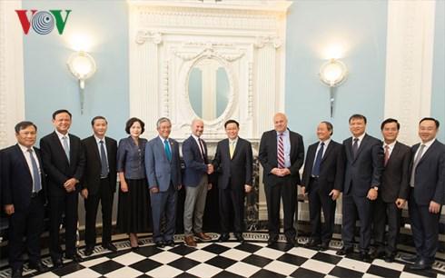 Doanh nghiệp Hoa Kỳ mong muốn tăng cường hơn nữa các hoạt động kinh doanh, đầu tư tại Việt Nam (Thời sự trưa 28/6/2018)