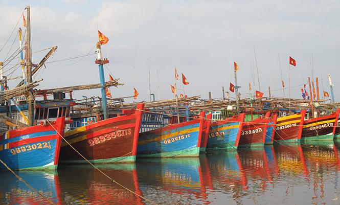 Hướng dẫn tàu thuyền neo đậu tránh bão an toàn (29/6/2018)