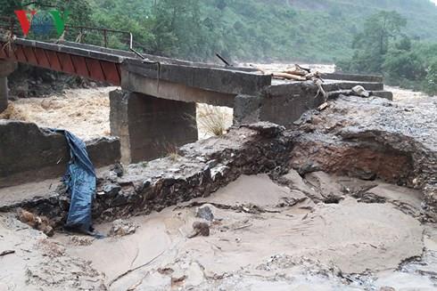 Khắc phục hậu quả mưa lũ ở các tỉnh miền núi phía Bắc (28/6/2018)