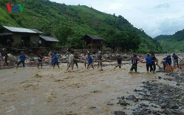 Các địa phương ở Tây Bắc nỗ lực khắc phục hậu quả do mưa lũ gây ra (30/6/2018)