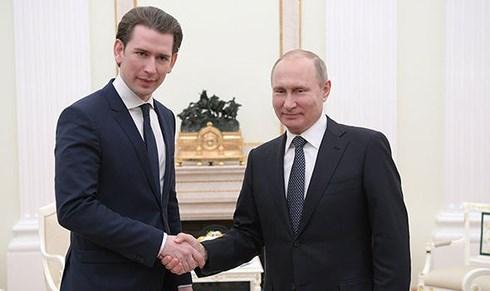Nga coi trọng mối quan hệ gần gũi với Áo (5/6/2018)