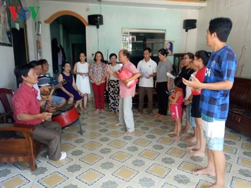 Quảng Ngãi: Thắp lửa đam mê nghệ thuật hô hát Bài Chòi (3/6/2018)