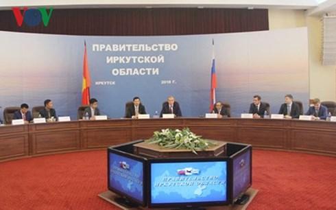 Tăng cường hợp tác giữa tỉnh Quảng Ninh và tỉnh Irkutsk, Liên bang Nga (11/6/2018)