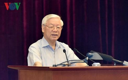 Tổng Bí thư Nguyễn Phú Trọng chủ trì Hội nghị toàn quốc công tác phòng, chống tham nhũng (Thời sự chiều 25/6/2018)