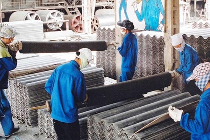 Giải pháp quản lý và sử dụng amiăng trắng an toàn trong sản xuất vật liệu lợp (24/7/2018)