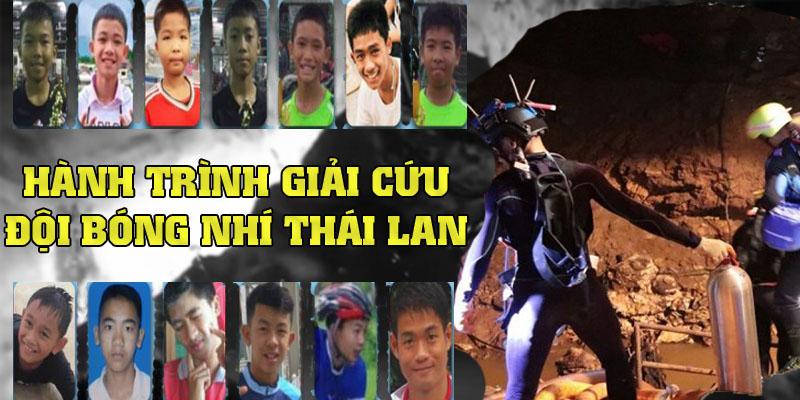 Nhìn lại hành trình giải cứu đội bóng thiếu niên tại Thái Lan (12/7/2018)