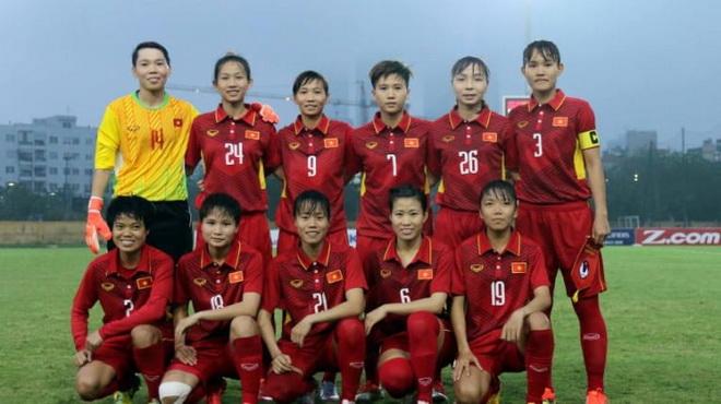 Đội tuyển bóng đá nữ Việt Nam sẵn sàng cho ASIAD 2018 (29/7/2018)