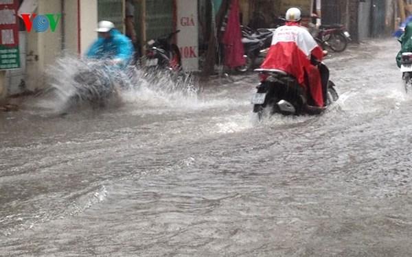 Bắc Bộ ứng phó với mưa lớn trên diện rộng (28/7/2018)