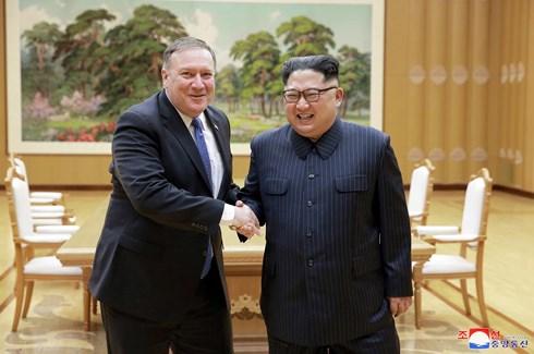 Ngoại trưởng Mỹ đến Triều Tiên nhằm tìm kiếm sự nhất trí về kế hoạch phi hạt nhân hóa (5/7/2018)