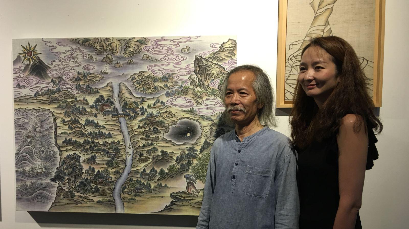 """Triển lãm """"Muối của rừng"""" giao lưu văn hóa Việt Nam – Hàn Quốc (9/7/2018)"""
