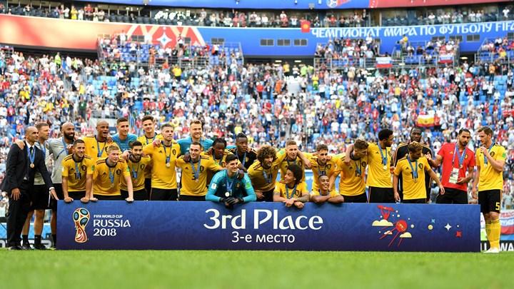 Đánh bại đội tuyển Anh với tỷ số 2-0: Đội tuyển Bỉ nhận huy chương đồng World Cup 2018 (15/7/2018)