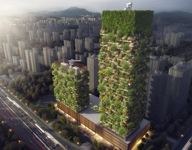 """""""Rừng thẳng"""" – mô hình đô thị tương lai (9/7/2018)"""