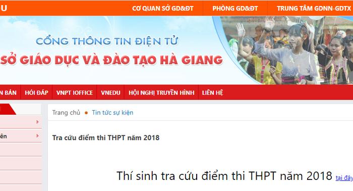 Điểm thi THPT ở Hà Giang cao bất thường: Cần đi đến cùng sự thật! (14/7/2018)